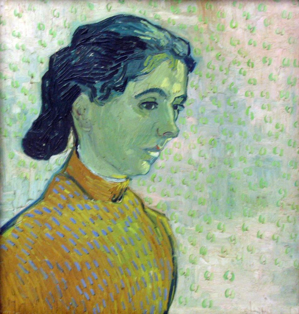 Vincent van Gogh, Portrait of a Young Woman, Canvas, Vincent Van Gogh, kanvas tablo, canvas print sales