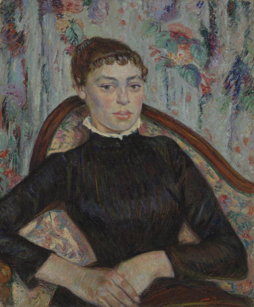 Vincent van Gogh, Portrait of a Young Woman, Canvas, Vincent Van Gogh, kanvas tablo, canvas print sales