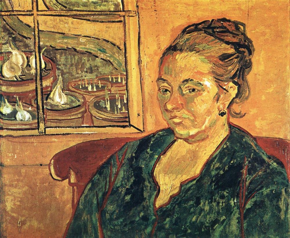 Vincent van Gogh, Madame Augustine Roulin Portresi, Kanvas Tablo, Vincent Van Gogh, kanvas tablo, canvas print sales