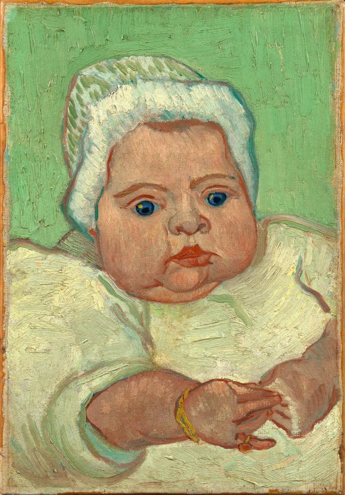 Vincent van Gogh, Marcelle Roulin Portresi, Kanvas Tablo, Vincent Van Gogh, kanvas tablo, canvas print sales