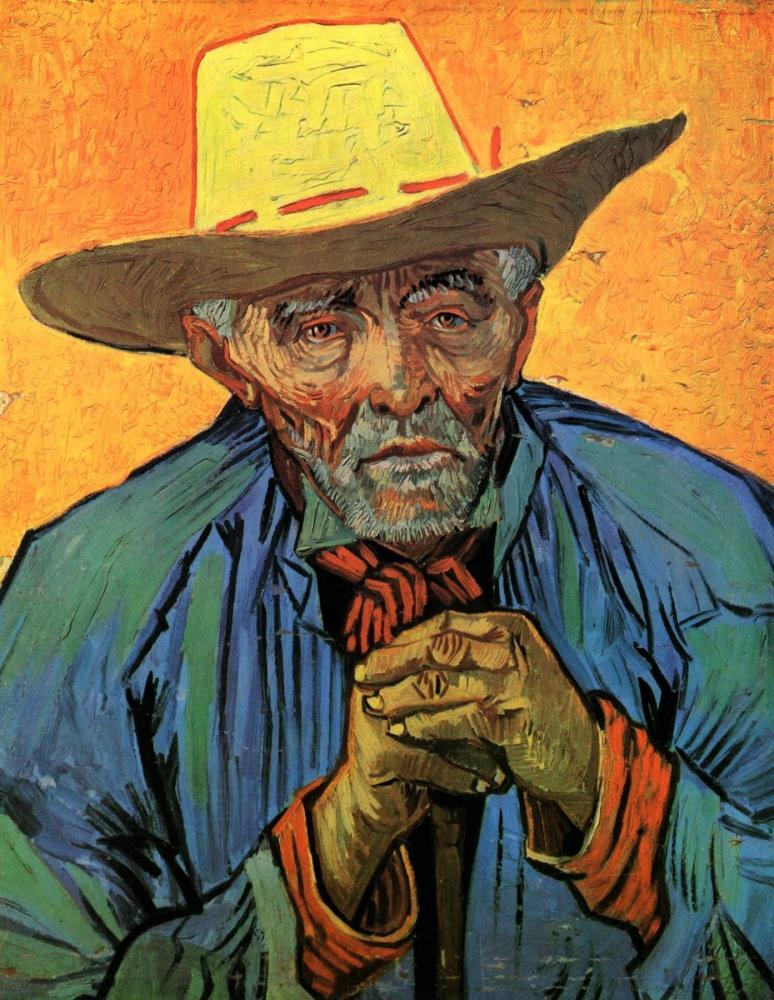 Vincent van Gogh, Portrait of Patience Escalier, Canvas, Vincent Van Gogh, kanvas tablo, canvas print sales
