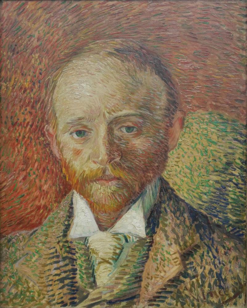 Vincent van Gogh, Portrait of the Art Dealer Alexander Reid, Canvas, Vincent Van Gogh, kanvas tablo, canvas print sales