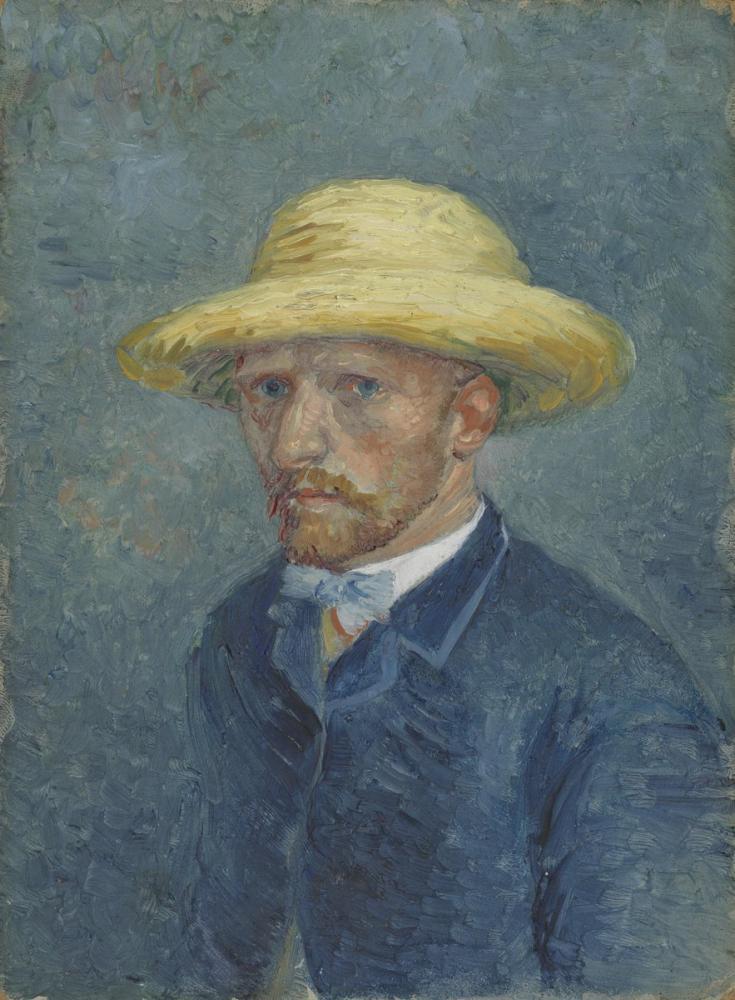 Vincent van Gogh, Portrait of Theo, Canvas, Vincent Van Gogh, kanvas tablo, canvas print sales