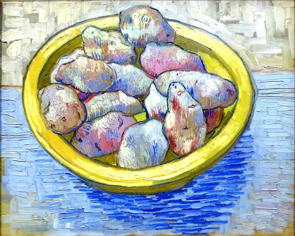 Vincent van Gogh, Patatesler, Kanvas Tablo, Vincent Van Gogh, kanvas tablo, canvas print sales