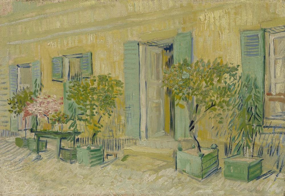 Vincent van Gogh, Restoran Rispal, Kanvas Tablo, Vincent Van Gogh, kanvas tablo, canvas print sales