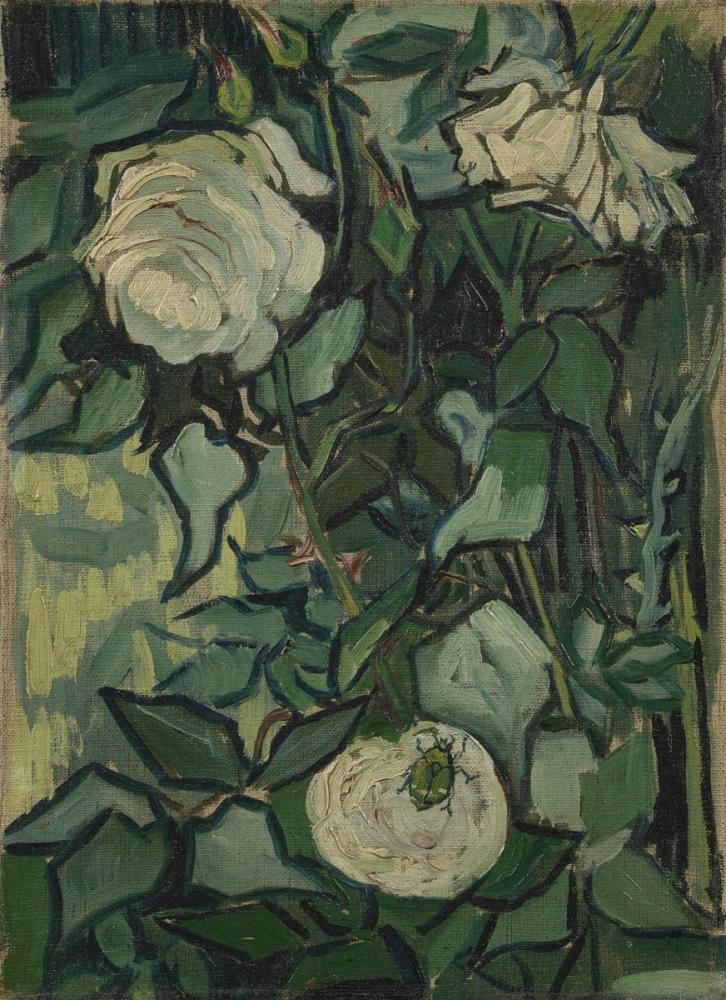 Vincent van Gogh, Roses, Canvas, Vincent Van Gogh, kanvas tablo, canvas print sales