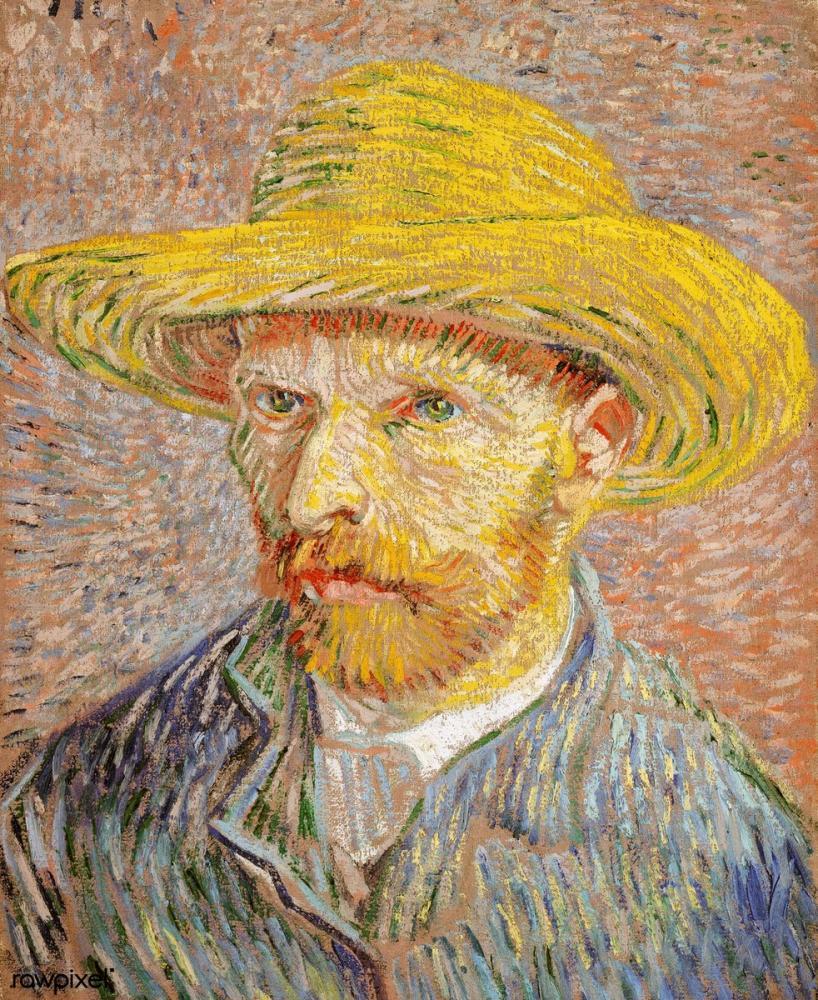 Vincent van Gogh, Otoportre, Kanvas Tablo, Vincent Van Gogh, kanvas tablo, canvas print sales