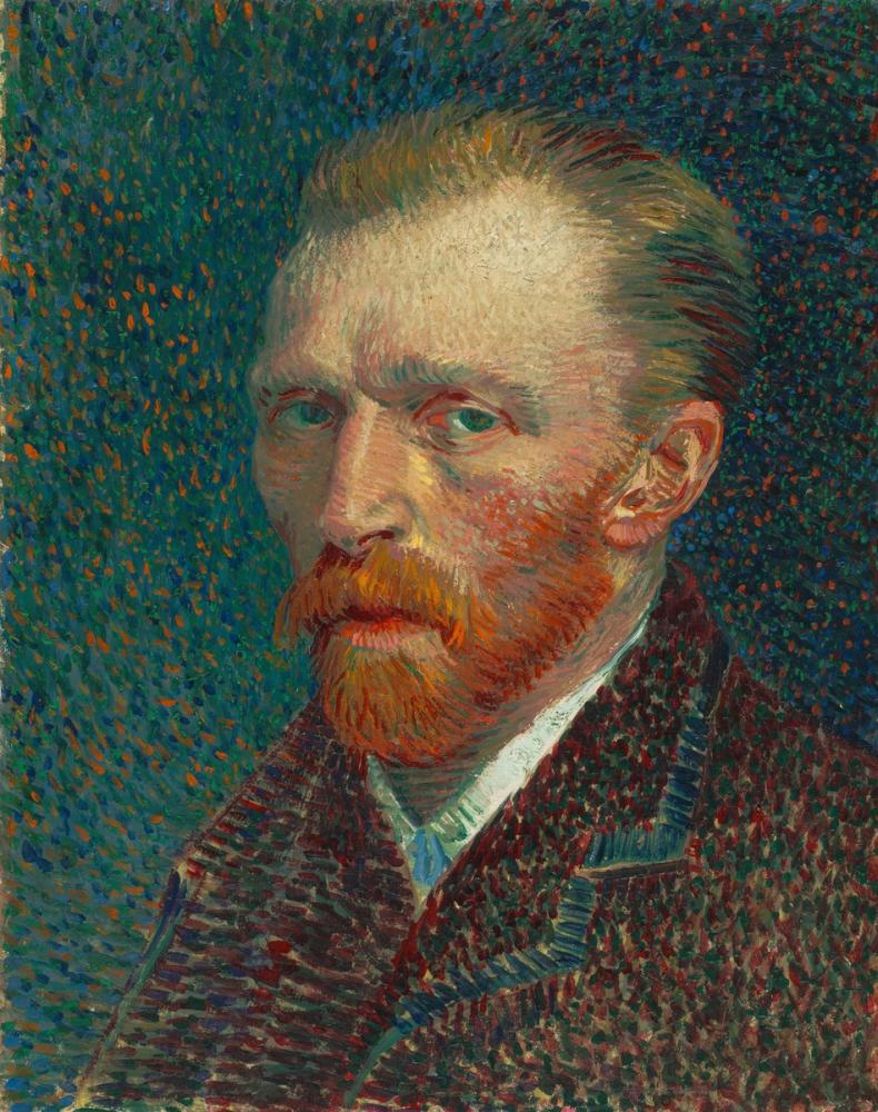 Vincent van Gogh, Otoportre, Kanvas Tablo, Vincent Van Gogh, kanvas tablo, canvas print sales