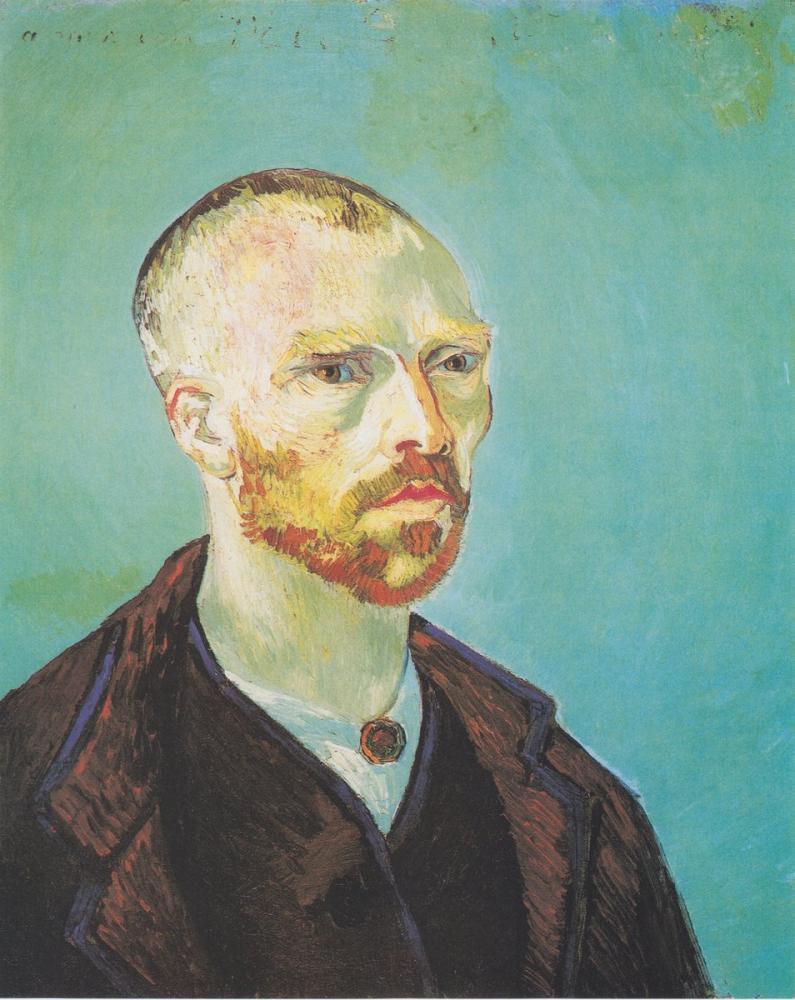 Vincent van Gogh, Self Portrait, Paul Gauguin Gewidmet, Canvas, Vincent Van Gogh, kanvas tablo, canvas print sales
