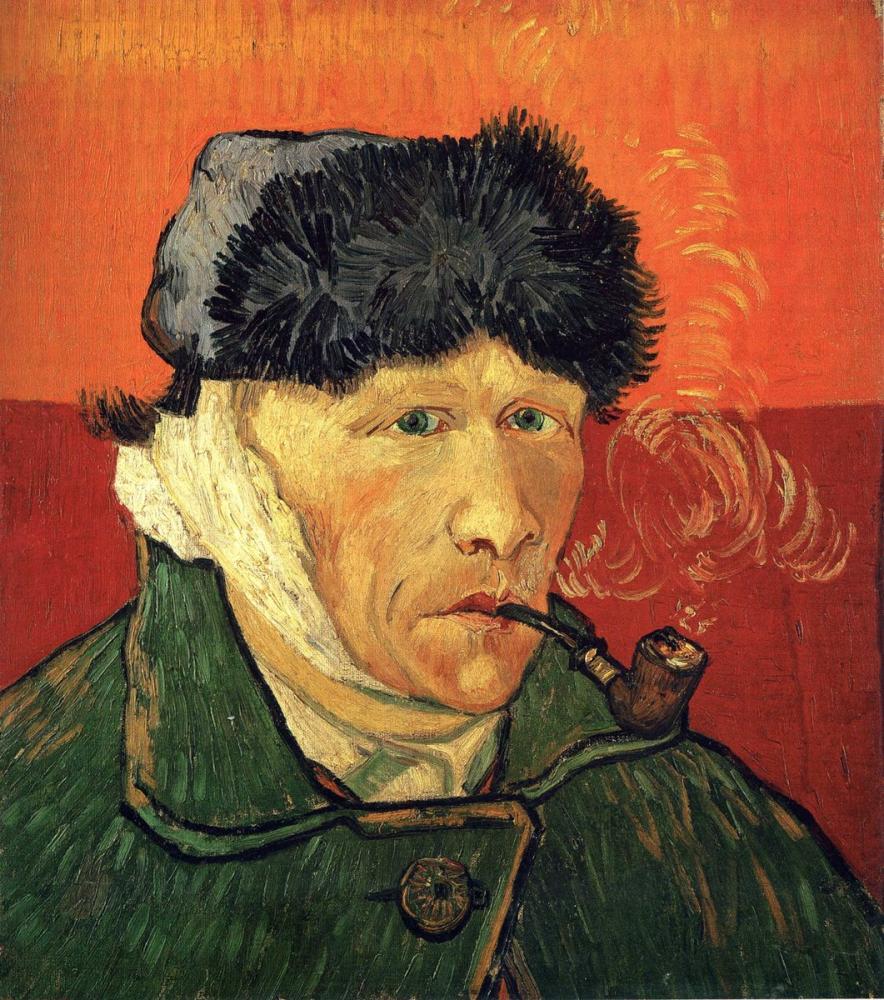 Vincent van Gogh, Self Portrait with a Bandaged Ear, Canvas, Vincent Van Gogh, kanvas tablo, canvas print sales
