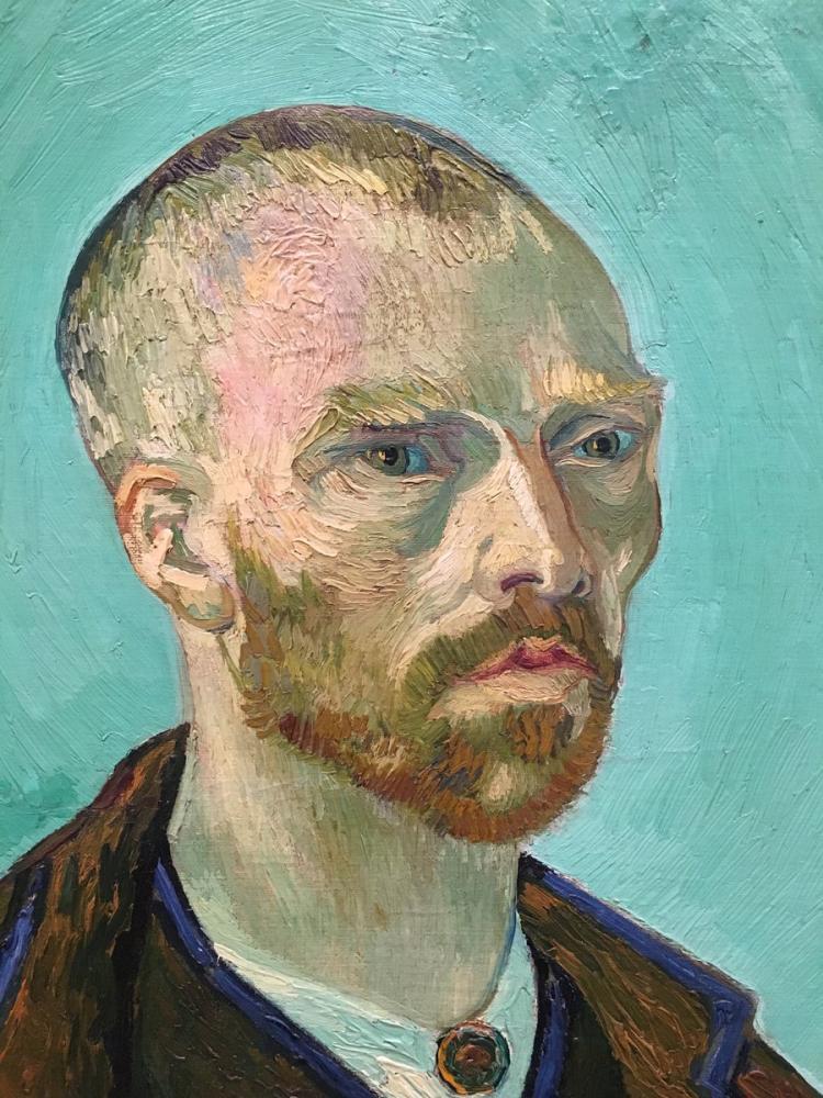 Vincent van Gogh, Self Portrait, Canvas, Vincent Van Gogh, kanvas tablo, canvas print sales