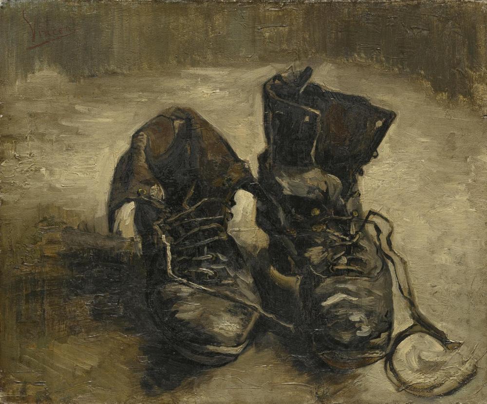 Vincent van Gogh, Shoes, Canvas, Vincent Van Gogh, kanvas tablo, canvas print sales