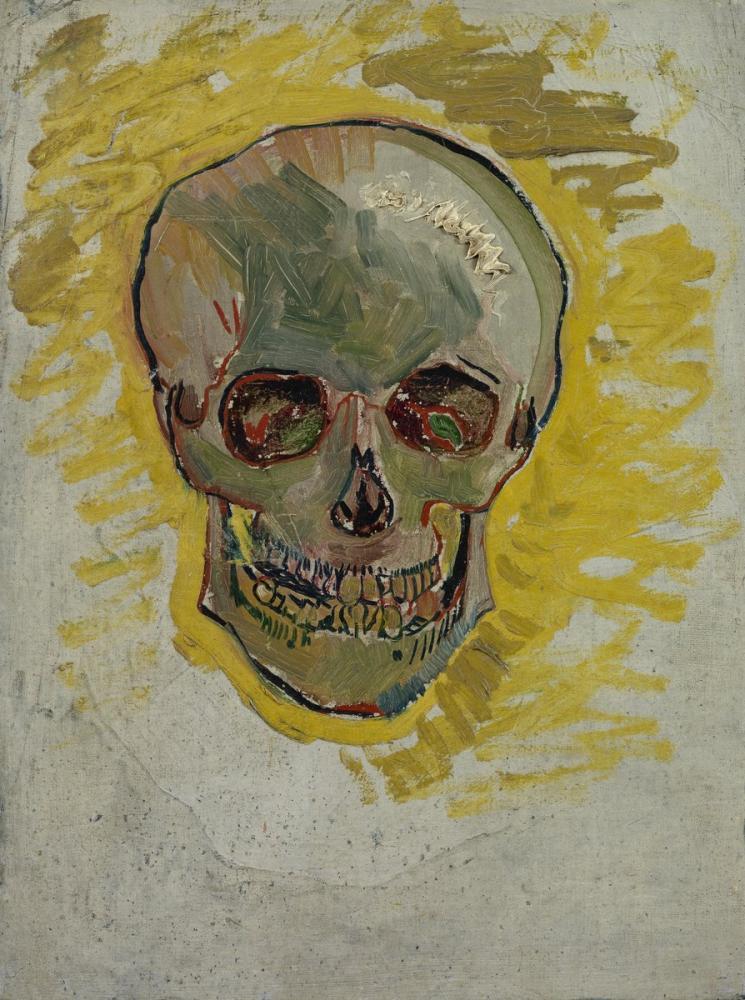 Vincent van Gogh, Skull, Figure, Vincent Van Gogh, kanvas tablo, canvas print sales