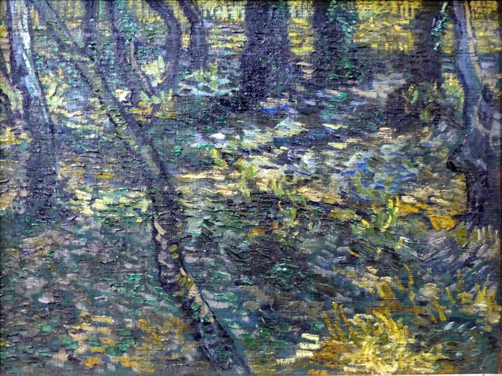 Vincent van Gogh, Sous bois, St Rémy, Canvas, Vincent Van Gogh, kanvas tablo, canvas print sales