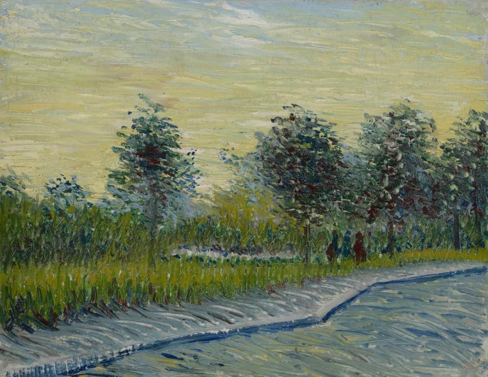 Vincent van Gogh, Square Saint Pierre at Sunset, Canvas, Vincent Van Gogh, kanvas tablo, canvas print sales