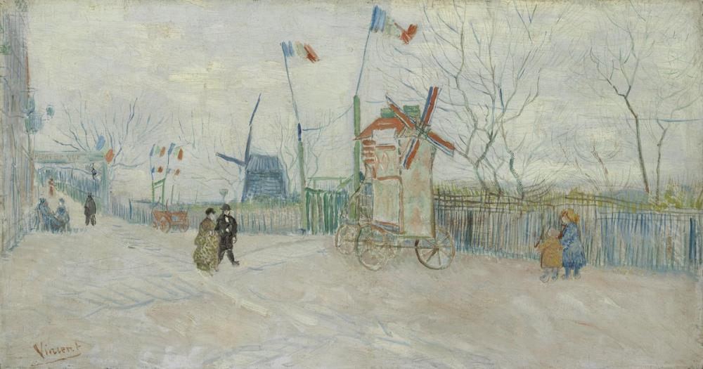 Vincent van Gogh, Stalemate of the Two Brothers, Canvas, Vincent Van Gogh, kanvas tablo, canvas print sales