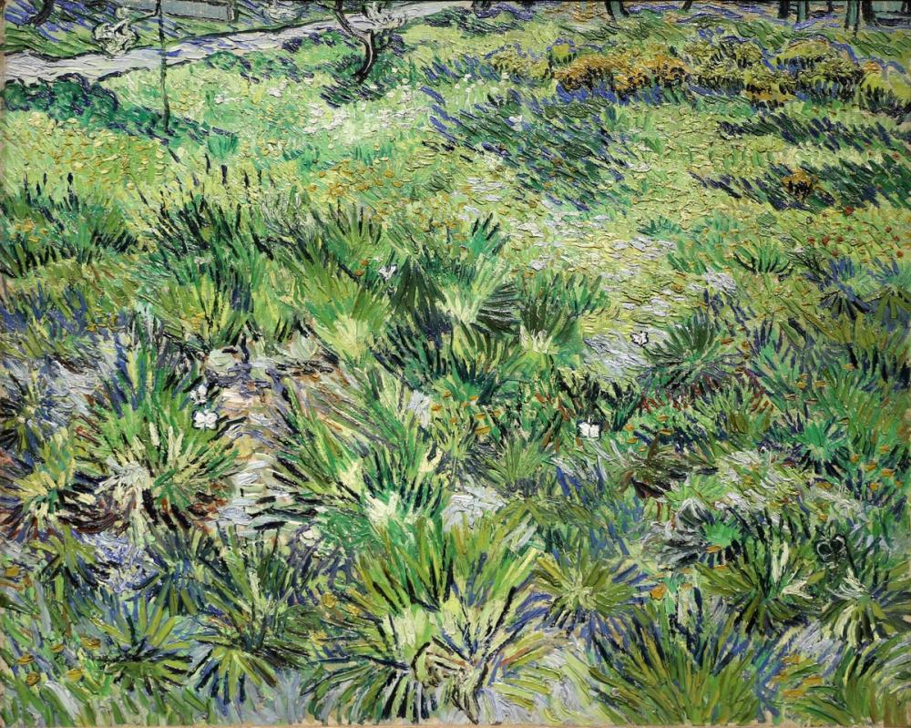 Vincent van Gogh, Tall Grass with Butterflies, Canvas, Vincent Van Gogh, kanvas tablo, canvas print sales