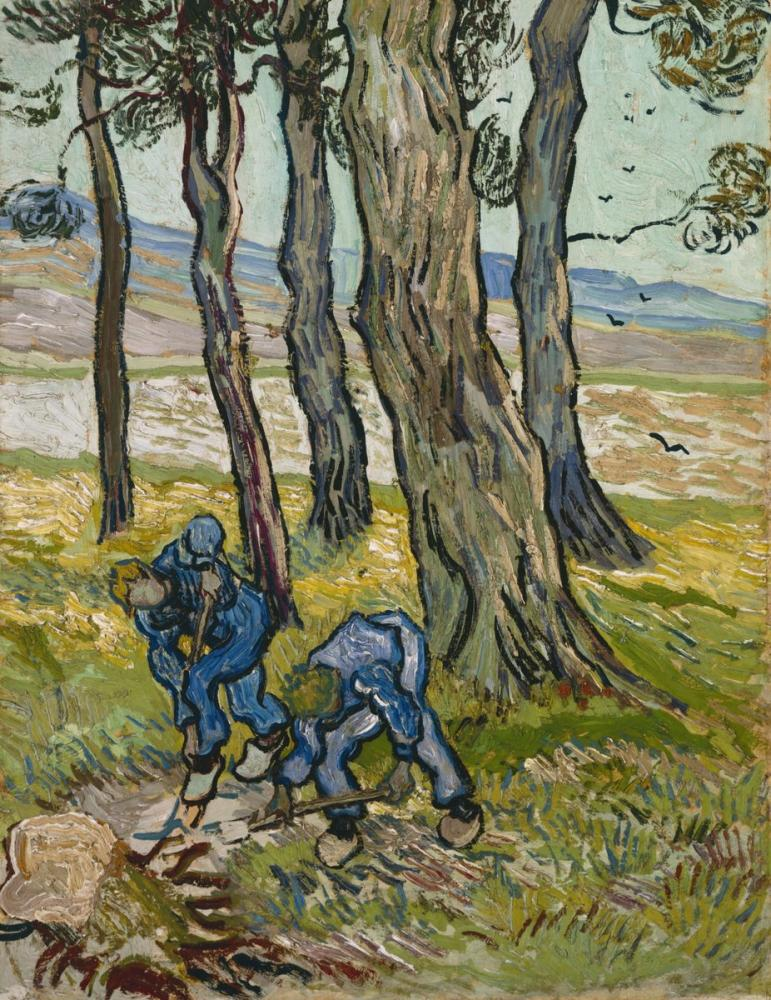 Vincent van Gogh, The Diggers, Canvas, Vincent Van Gogh, kanvas tablo, canvas print sales