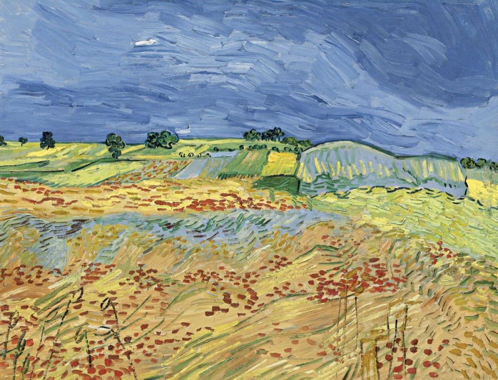 Vincent van Gogh, The Fields, Canvas, Vincent Van Gogh, kanvas tablo, canvas print sales