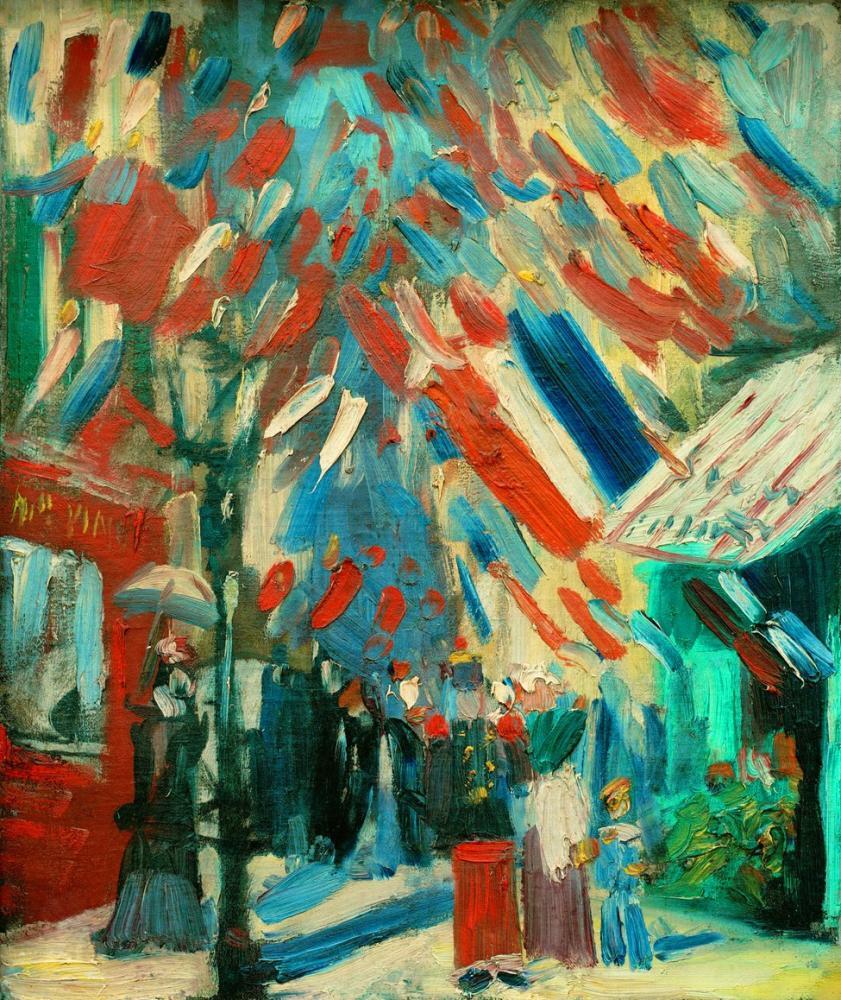 Vincent van Gogh, The Fourteenth of July Celebration in Paris, Canvas, Vincent Van Gogh, kanvas tablo, canvas print sales