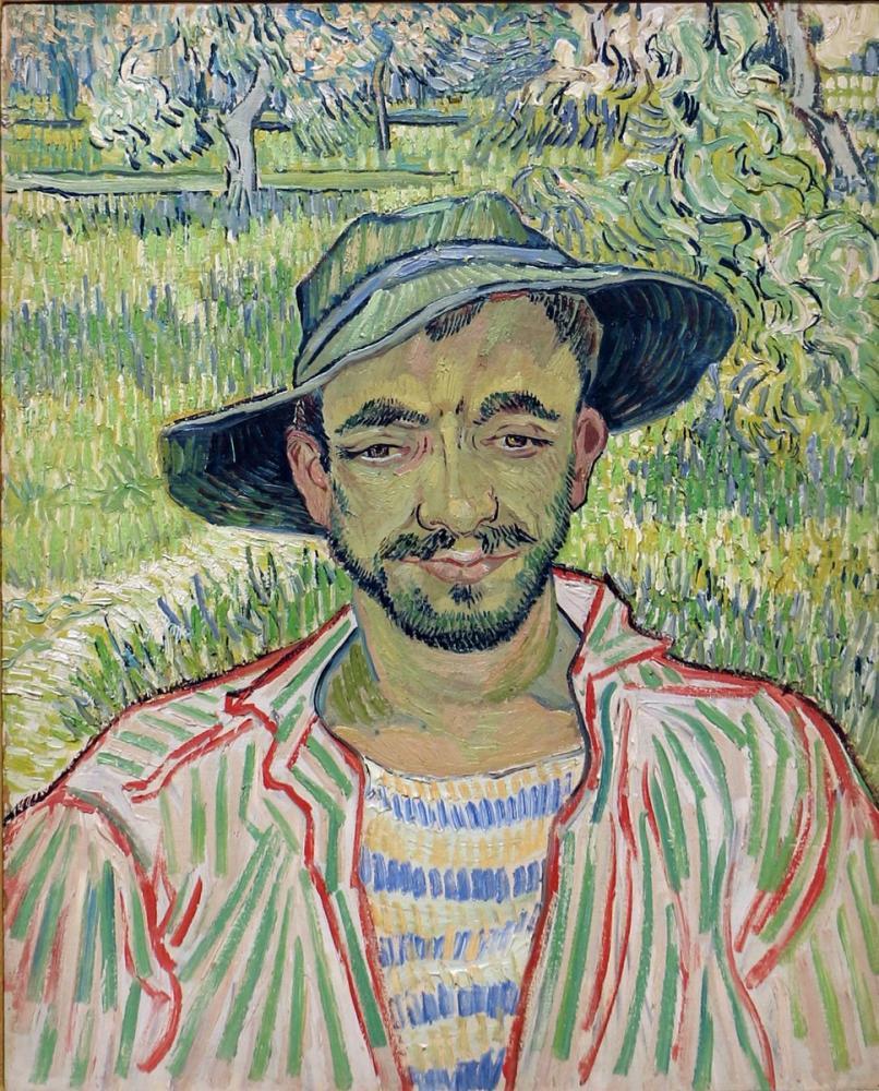 Vincent van Gogh, The Gardener, Canvas, Vincent Van Gogh, kanvas tablo, canvas print sales