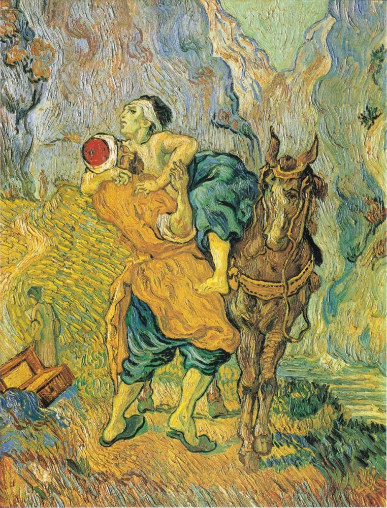 Vincent van Gogh, The Good Samaritan, Canvas, Vincent Van Gogh, kanvas tablo, canvas print sales