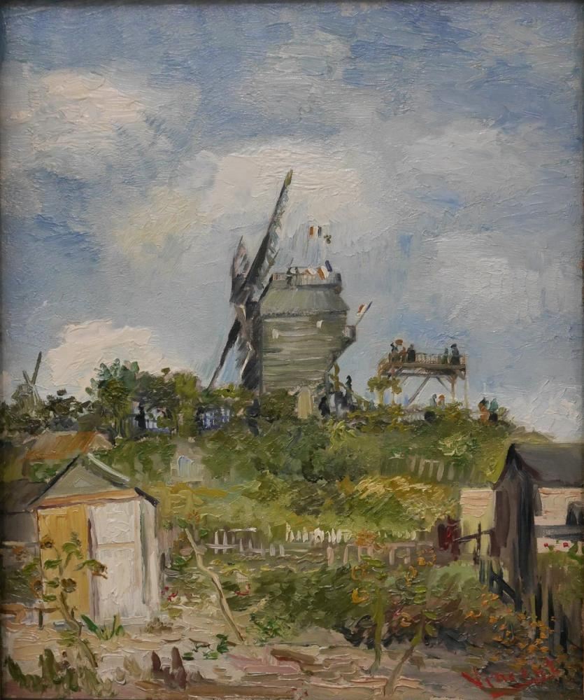 Vincent van Gogh, The Moulin de la Galette, Canvas, Vincent Van Gogh, kanvas tablo, canvas print sales
