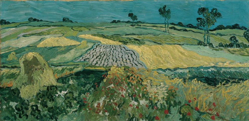 Vincent van Gogh, Auvers Ovası, Kanvas Tablo, Vincent Van Gogh, kanvas tablo, canvas print sales