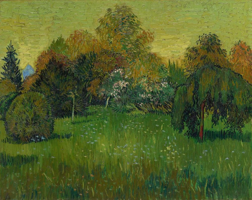 Vincent van Gogh, Şairin Bahçesi, Kanvas Tablo, Vincent Van Gogh, kanvas tablo, canvas print sales