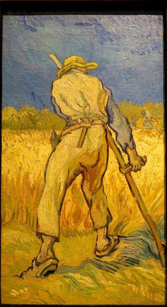 Vincent van Gogh, The Reapers, Canvas, Vincent Van Gogh, kanvas tablo, canvas print sales