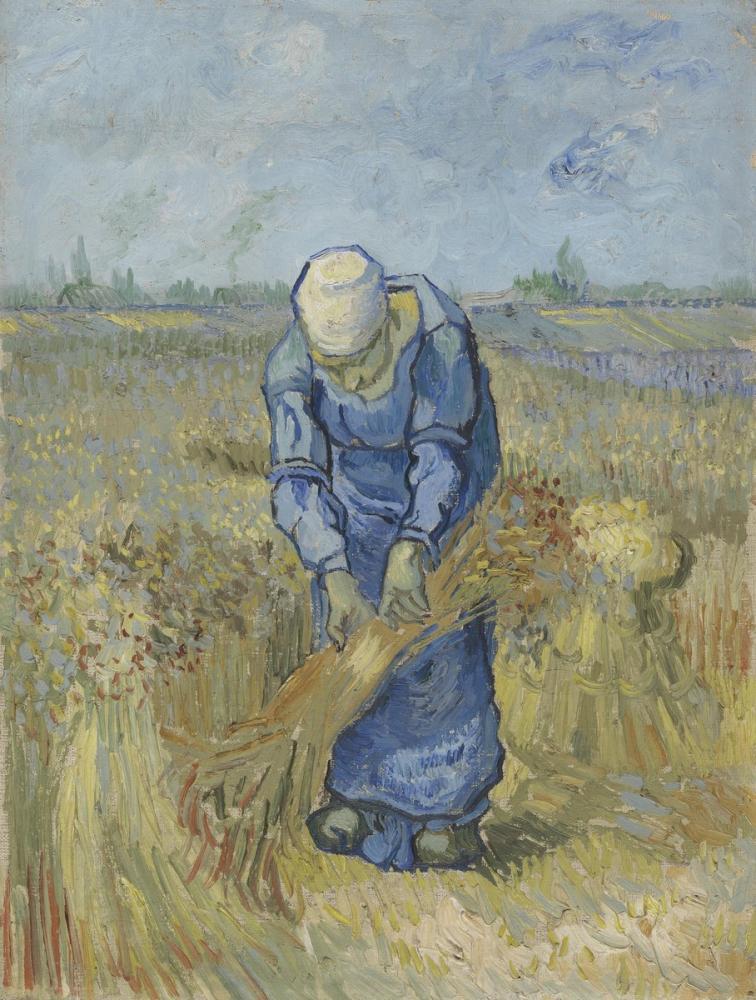 Vincent van Gogh, The Sheaf Binder, Canvas, Vincent Van Gogh, kanvas tablo, canvas print sales
