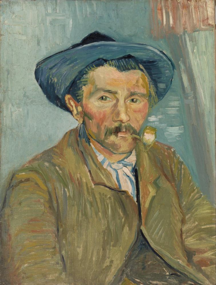 Vincent van Gogh, The Smoker, Canvas, Vincent Van Gogh, kanvas tablo, canvas print sales