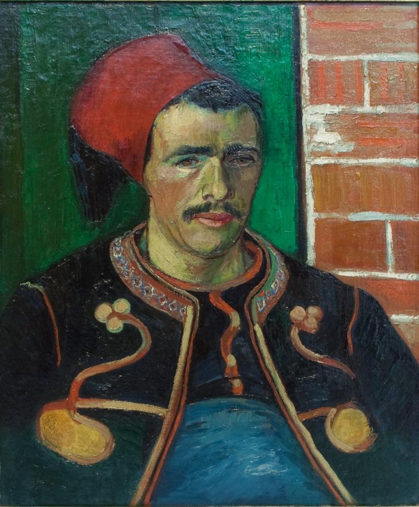 Vincent van Gogh, Zouave, Kanvas Tablo, Vincent Van Gogh, kanvas tablo, canvas print sales
