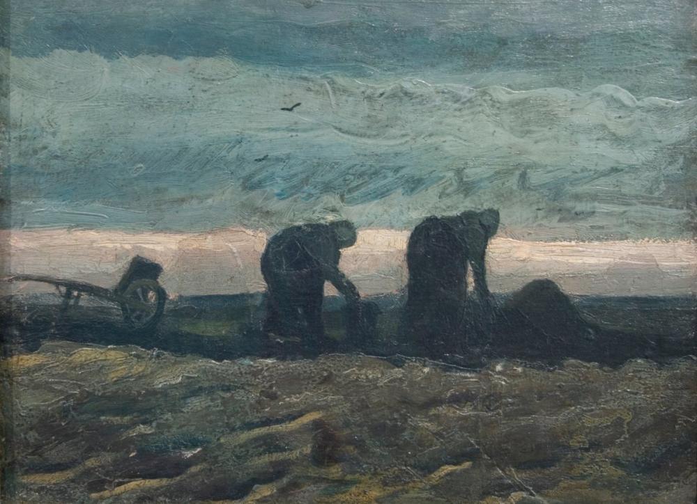 Vincent van Gogh, Two Women on the Peat Moor, Canvas, Vincent Van Gogh, kanvas tablo, canvas print sales