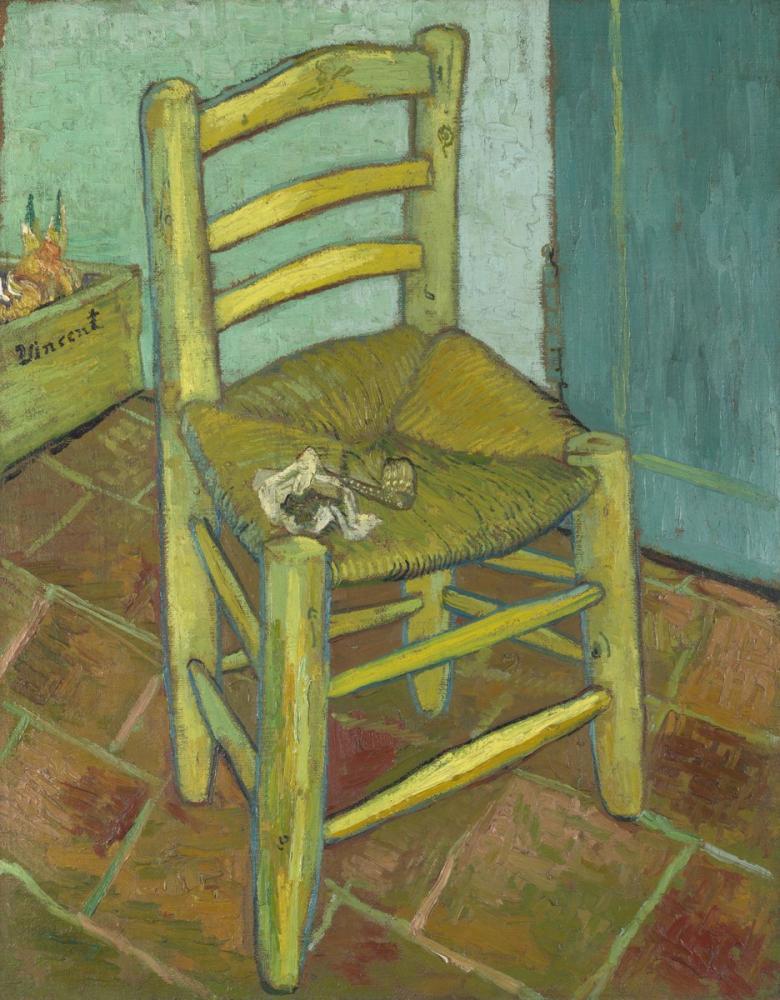 Vincent van Gogh, Van Gogh un Sandalyesi, Kanvas Tablo, Vincent Van Gogh, kanvas tablo, canvas print sales