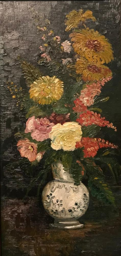 Vincent van Gogh, Çiçekli Vazo, Kanvas Tablo, Vincent Van Gogh, kanvas tablo, canvas print sales