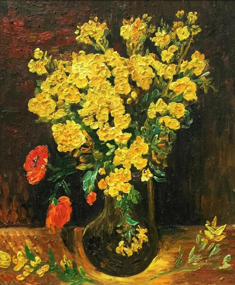 Vincent van Gogh, Poppy Flowers, Canvas, Vincent Van Gogh, kanvas tablo, canvas print sales