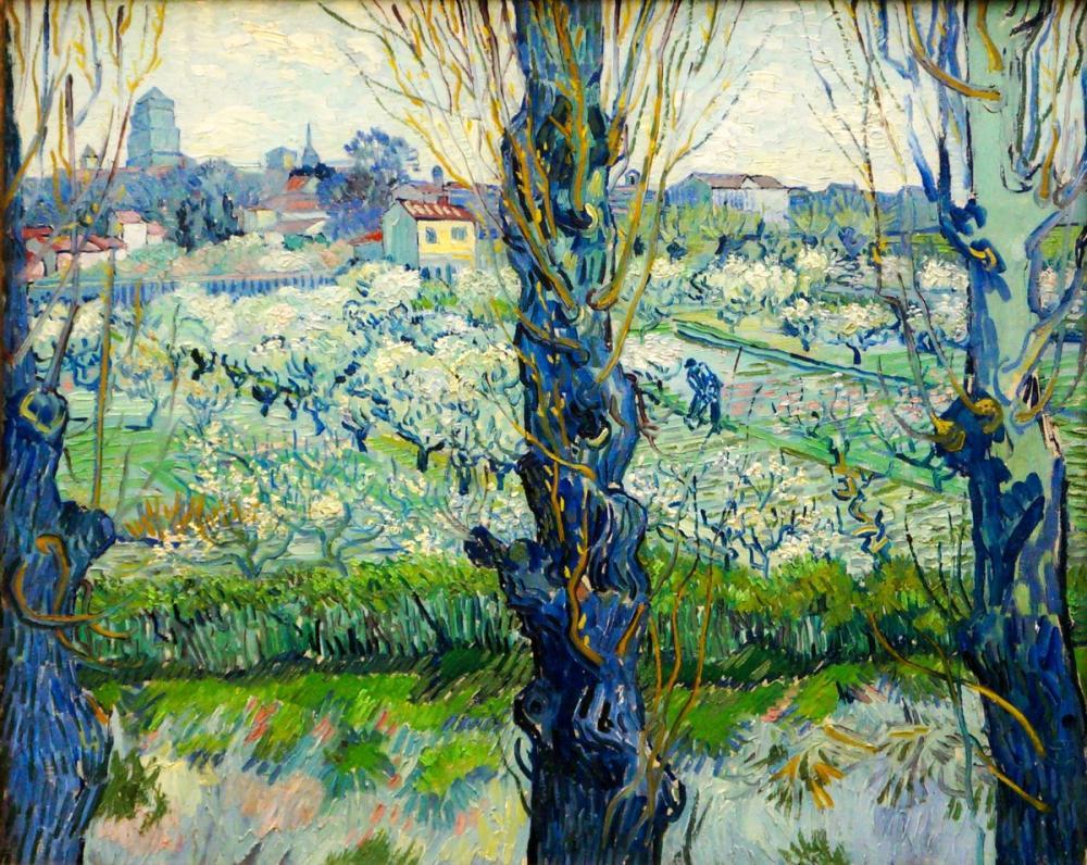 Vincent van Gogh, Arles ın Görünümü, Kanvas Tablo, Vincent Van Gogh, kanvas tablo, canvas print sales