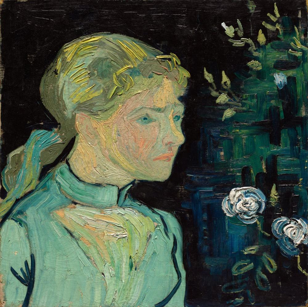 Vincent van Gogh, Adeline Ravoux, Canvas, Vincent Van Gogh, kanvas tablo, canvas print sales