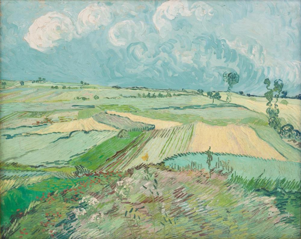 Vincent van Gogh, Yağmurdan Sonra Buğday Tarlaları, Kanvas Tablo, Vincent Van Gogh, kanvas tablo, canvas print sales