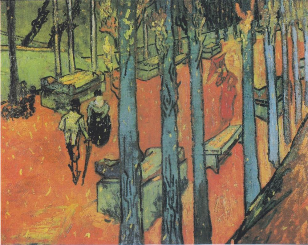 Vincent van Gogh, Alyscamps, Kanvas Tablo, Vincent Van Gogh, kanvas tablo, canvas print sales