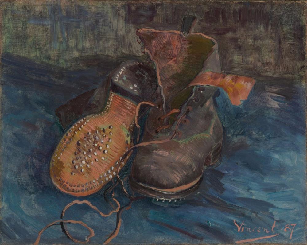 Vincent van Gogh, Bir Çift Bot, Kanvas Tablo, Vincent Van Gogh, kanvas tablo, canvas print sales