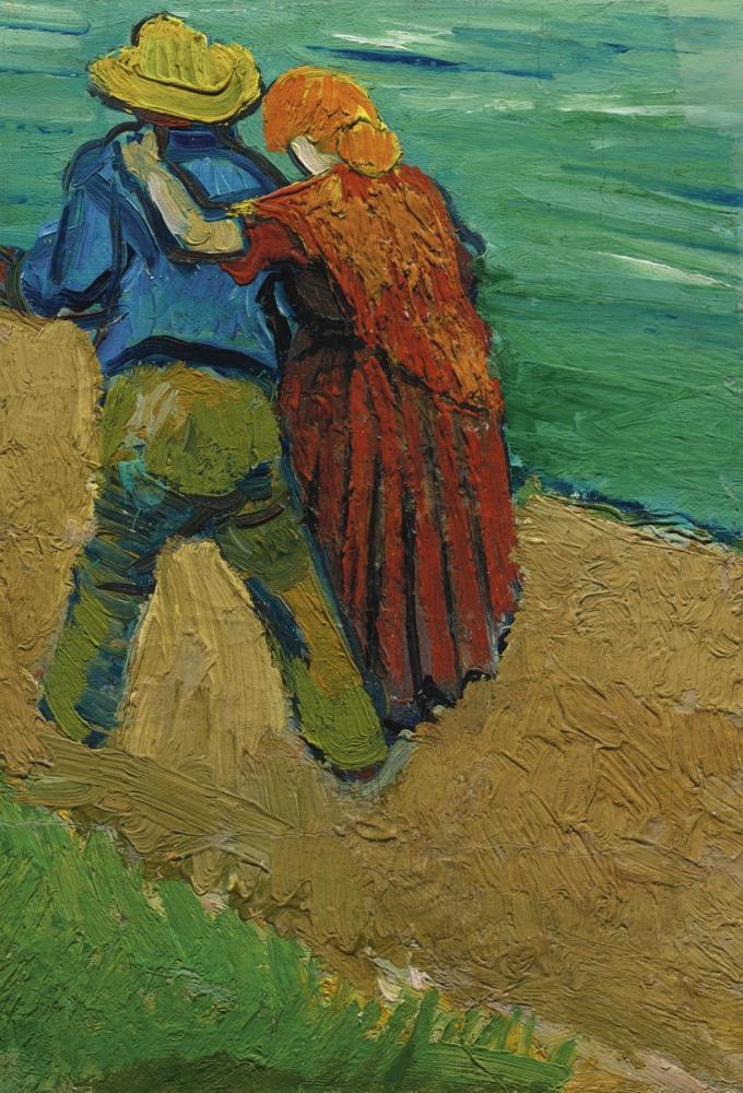 Vincent van Gogh, Arles Two Lovers, Canvas, Vincent Van Gogh, kanvas tablo, canvas print sales