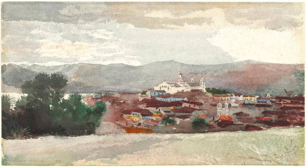Santiago Manzarası, Küba, Winslow Homer, Kanvas Tablo, Winslow Homer, kanvas tablo, canvas print sales