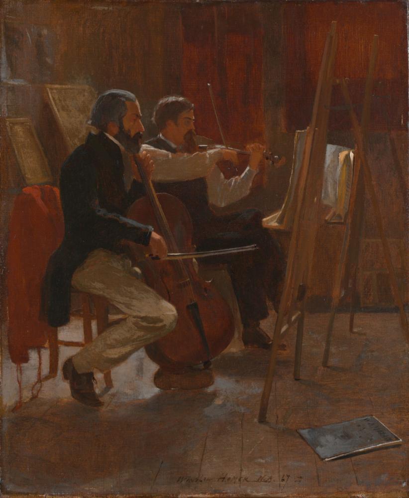 Stüdyo, Winslow Homer, Kanvas Tablo, Winslow Homer, kanvas tablo, canvas print sales