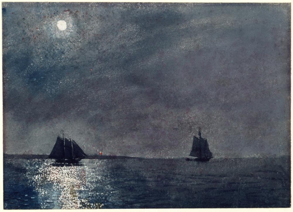 Eastern Point Light, Winslow Homer, Canvas, Winslow Homer, kanvas tablo, canvas print sales