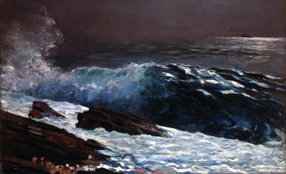 Sahil üzerinde Güneş Işığı, Winslow Homer, Kanvas Tablo, Winslow Homer, kanvas tablo, canvas print sales