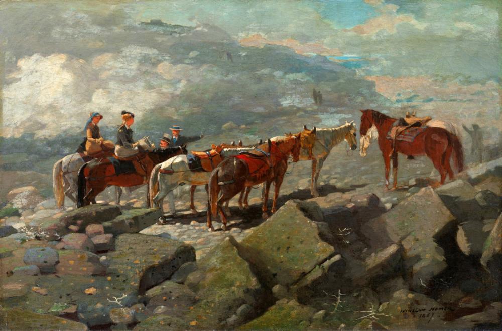 Mount Washington, Winslow Homer, Canvas, Winslow Homer, kanvas tablo, canvas print sales