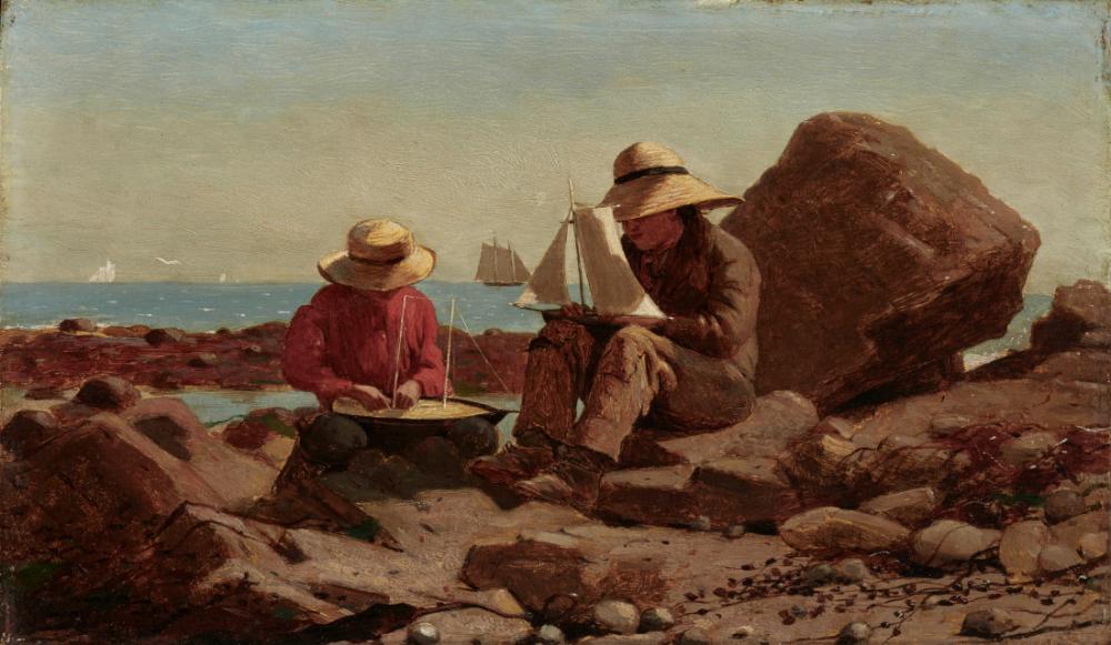 Tekne Üreticileri, Winslow Homer, Kanvas Tablo, Winslow Homer, kanvas tablo, canvas print sales