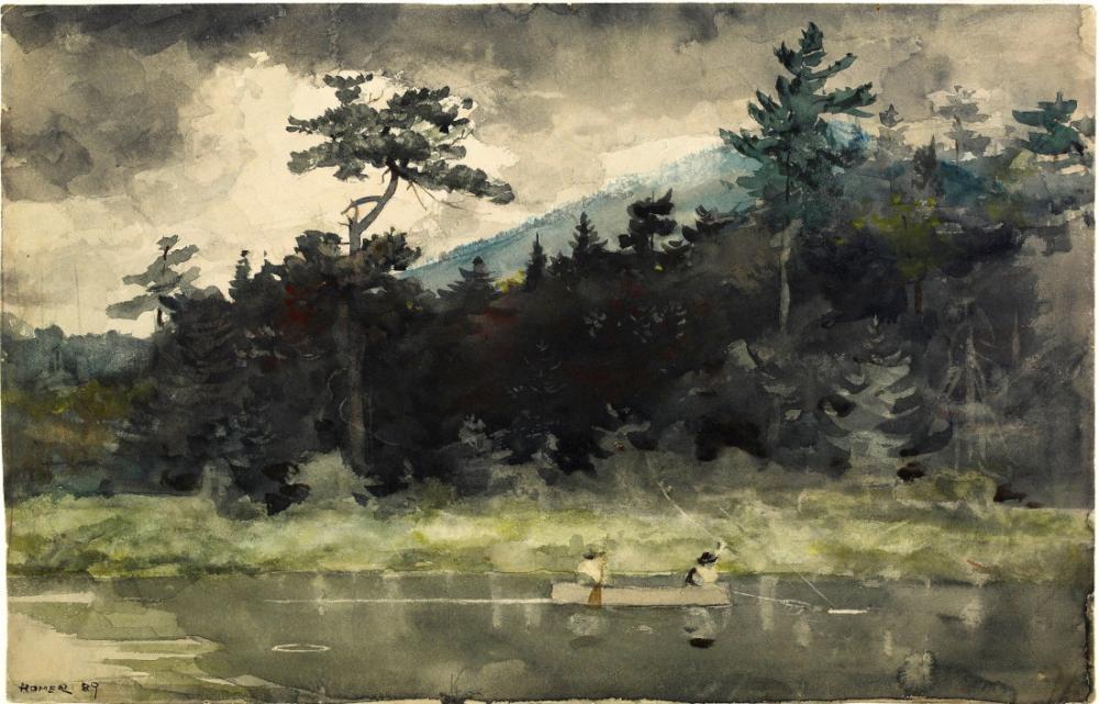 A Fisherman s Day, Winslow Homer, Canvas, Winslow Homer, kanvas tablo, canvas print sales